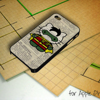 Hello Kitty Robin on Dictionary Art iPhone 5 Case
