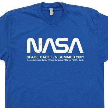 df5415ff7528 Vintage Nasa T Shirt Science Geek Shirt Nasa Space Cadet Shirt R