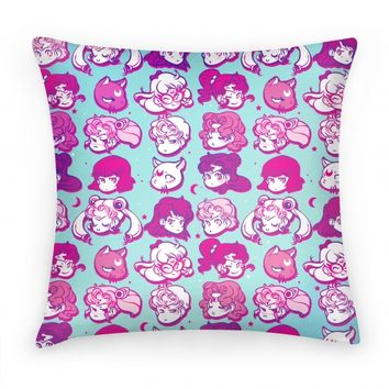 Sailor Moon Warriors Pillow