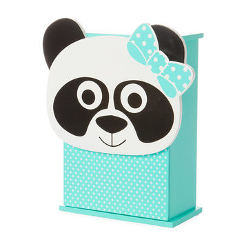 Panda and Polka Dots Jewelry Box
