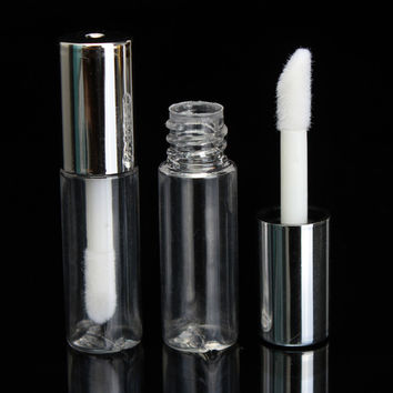 1Pcs Plastic Clear Empty Lip Gloss Balm Container Tube Bottle 1.2ml