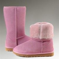 UGG Classic Tall Boots 5815 Pink Cute