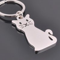 Cartoon Cat Key Chain
