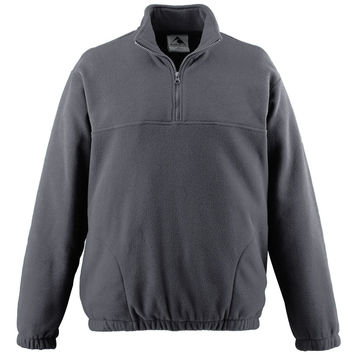 Augusta 3530 Chill Fleece Half-Zip Pullover - Dark Gray