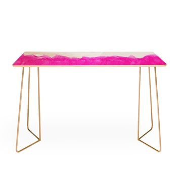 Allyson Johnson Pink Brushed Desk