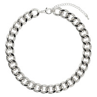 Thick Chunky Chain Collar - Topshop USA