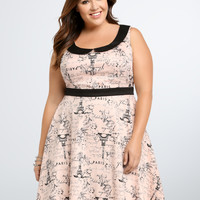 Disney Collection Aristocats Graphic Skater Dress