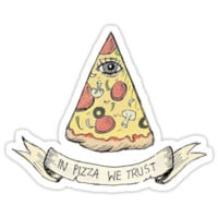 PIZZA ILLUMINATI T-SHIRT