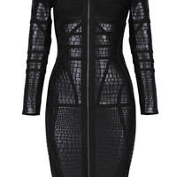 _Melanic Bandage Dress