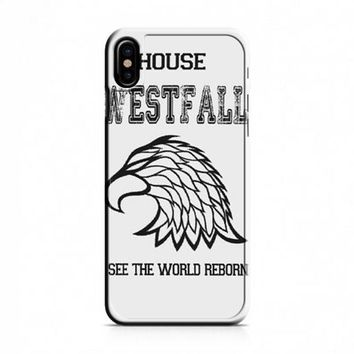 HOUSE WESTFALL THE THRONE OF GLASS iPhone X Case