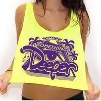 Something Deeper Crop Tank Top