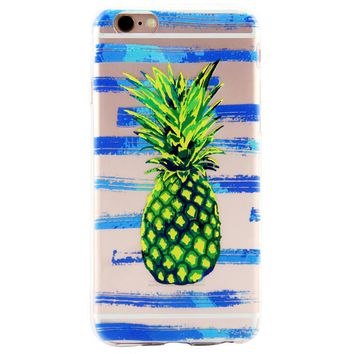Sour and Sweet Pineapple Cover Case for iPhone 7 7Plus & iPhone 6s 6 Plus & iPhone X 8 Plus with Gift Box
