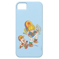 Rainbow Brite & Twink Marching Band iPhone 5 Cover from Zazzle.com