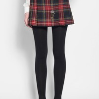 Women's Saint Laurent Tartan Kilt