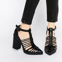 ASOS OZONE Caged Pointed Heels