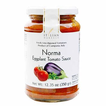 Norma Eggplant Tomato Sauce by La Reinese 12.3 oz. (350g)