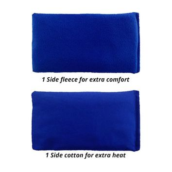 My Heating Pad- Hot Therapy Pack – Natural Heat Therapy - Stress Relief (Blue) - Walmart.com