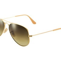 Look who's looking at this new Ray-Ban Aviator Gradient