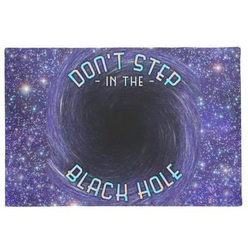Autumn Fall welcome door mat doormat New Funny Nerd Welcome Mats Novelty Don't Step In the Black Hole  Entrance for Children Tech Science Joke Geek Room Home AT_76_7