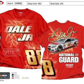 Dale Jr #88 National Guard Red Extra Large tee shirt w/tags