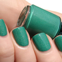 Jaded for Green Holographic Green Nail Polish