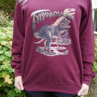 Wildlife Dinosaur Tyrannosaurus Jumper, Sweatshirt, Sweater from WLC