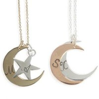 Catbird::WHAT'S NEW: jewelry::You are My Moon and Stars - Stackable Necklace