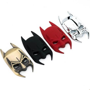 SUKO 3D Batman mask logo auto parts batman metal sticker hero batman emblem for ford BMW tail decal motorcycle car accessories