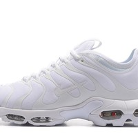 Nike Air Max Plus Tn Ultra Sport Shoes Casual Sneakers - All White