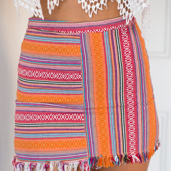 Denver Skirt (orange)