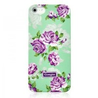 Generic Retro Villatic Style Garden Frosted Case For iPhone