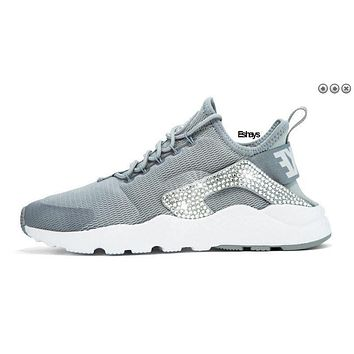 Crystal Gray Nike Air Huarache Run Ultra