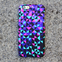 Epic Geometric Triangle Violet (not otterbox speck) iPhone 6 iPhone 5 Galaxy S5 Galaxy S4 Case Retina full 3D wrap
