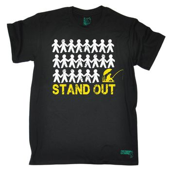 Stand Out Fisherman T-Shirts - Men's Top Tee
