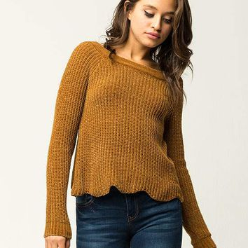 IVY & MAIN Chenille Womens Sweater   Pullovers