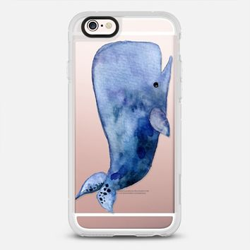 Blue Whale iPhone 6s case by Emily | Casetify