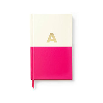 kate spade new york Initial Monogram Notebook