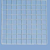 "White Mini Grid Wall Panel - 14"" x 14"" 