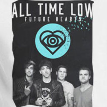 All Time Low band heart logo t-shirt tee