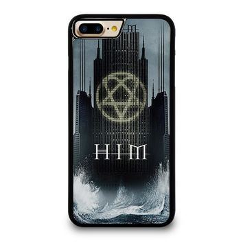HIM BAND HEARTAGRAM iPhone 4/4S 5/5S/SE 5C 6/6S 7 8 Plus X Case