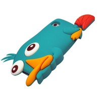LliVEER Lake Blue iphone 5 Cute 3D Cartoon Platypus Soft Silicone Case Protector Cover for Apple iphone 5 5G 5th