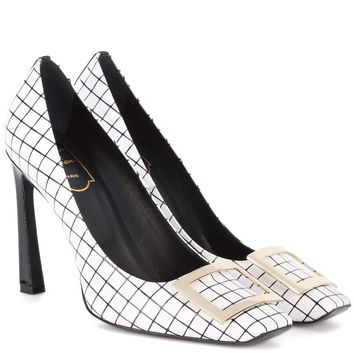 Belle Vivier Trompette leather pumps