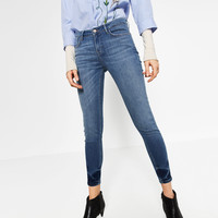 MID - RISE STRAIGHT CUT JEANS-NEW IN-WOMAN | ZARA United Kingdom