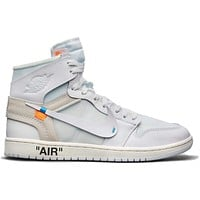 KUYOU Jordan 1 Retro High - Off-White (White)