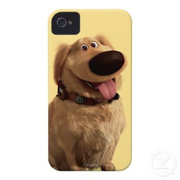 Dug the Dog from Disney Pixar UP - smiling Case-Mate iPhone 4 Cases from Zazzle.com