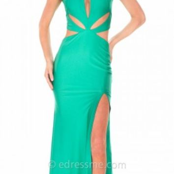 Alluring Keyhole Cut Out Prom Gown by Atria