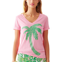 Lilly Pulitzer Issa V-Neck T-Shirt