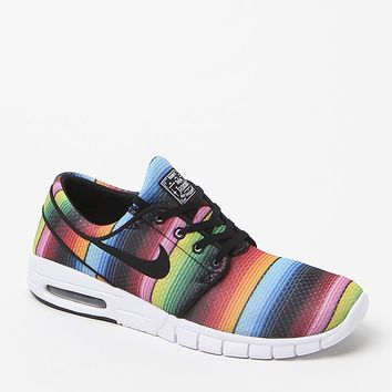 Nike SB Janoski Max Premium Blanket Sneakers - Mens Shoes - Multi