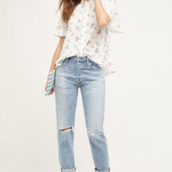 Citizens of Humanity Liya Jeans in Torn Size: