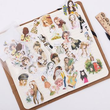 3 Sets Cute Cartoon Animals Adhesive Sticker DIY Decoration Stationery Sticky Album Diary Scrapbooking for Kids Learning Gifts